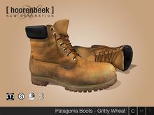 [ hoorenbeek ] Patagonia - Gritty Wheat - BOX [ wear me]