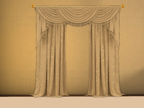 Second Life Marketplace - Adel Brocade Curtain