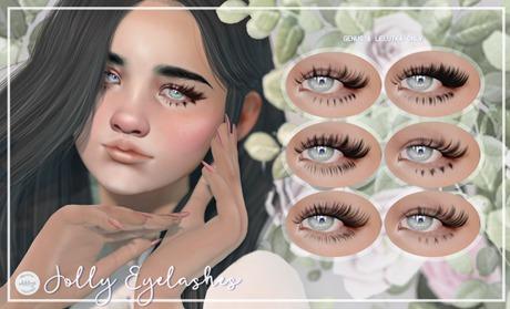 okkbye. Jolly Eyelashes (genus & lelutka) - add me