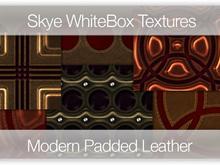 Modern Padded Leather -  Skye WhiteBox Full PermsTextures