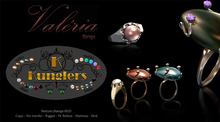 KUNGLERS - Valeria rings