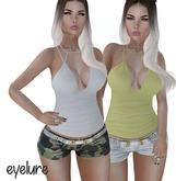 Eyelure Baby Denim Shorts 2 Pack   (Stone, Camo)