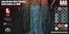 GAS [Long Denim Skirt Paulina - 20 Colors w/HUD FATPACK] Demo