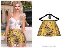 POSIE - Billie Silk Shorts .FLEURS