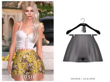 POSIE - Billie Silk Shorts .GRAY