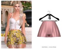 POSIE - Billie Silk Shorts .BLUSH