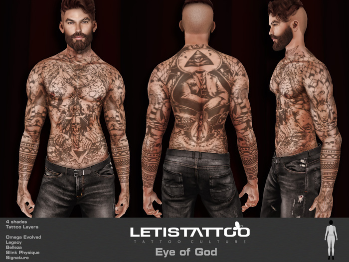 Letis Tattoo :: Eye of God :: Tattoo & Omega Legacy Signature and more Appliers