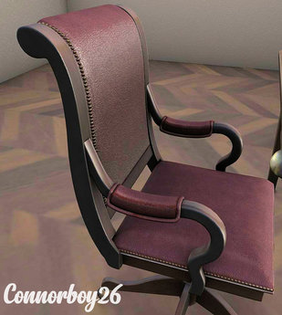 Kraftwork + [ kunst ] 5 Executive Chair vintage with animations