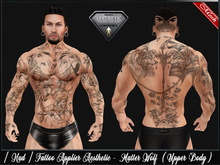 [ Hud ] Tattoo Applier Aesthetic - Matter Wolf ( Upper Body )