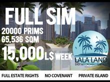 Full Prim Sim Heaven and Hell 15000L$ Week,65536sqm,20000 prims