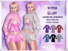 [WitchCraft] [WitchCraft] Unicorn Girl Loungewear