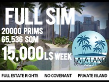 Full Prim Sim Angels Pass 15000L$ Week,65536sqm,20000 prims
