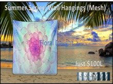 Bohemian Summer Series: Floral Delight Wall Hang