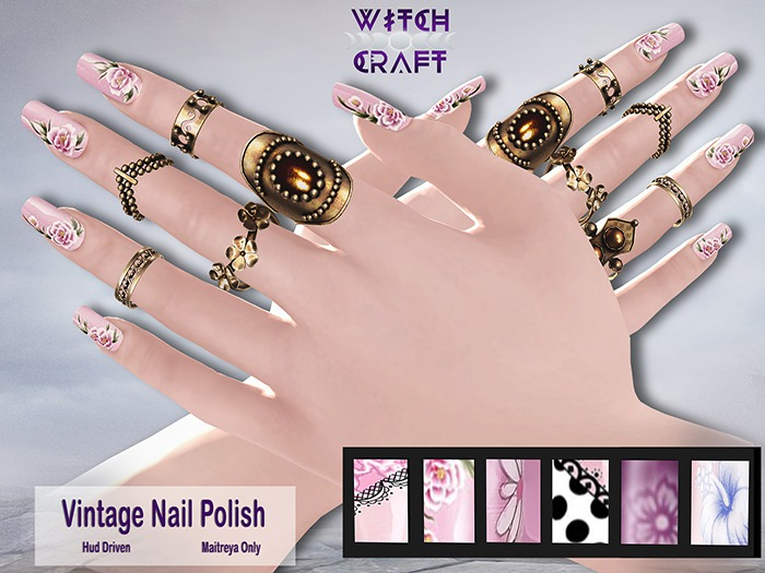 [WitchCraft] Vintage Nail Polish - Maitreya