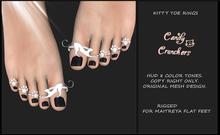 Candy Crunchers - Cat Toe Rings - maitreya Flat