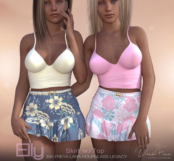 DarkFire-Elly Skirt with Top FatPack