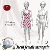 Mesh female manequin v. 1