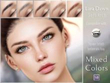 Eyebrows, Catwa: LaraDawn.SoftArch.MixedColors