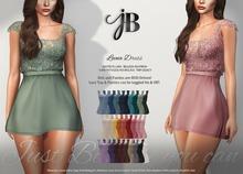 *Just BECAUSE* Leena Dress - FatPack - Maitreya, Belleza, Slink, Legacy