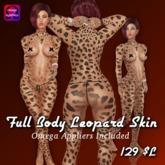 Full Body Leopard Skin W-Appliers V2.0