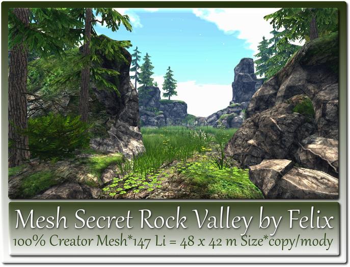 Mesh Secret Rock Valley by Felix 147 Li=48x42m Size copy-mody