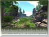 Mesh secret rock valley by felix 147 li 48x42m size copy mody