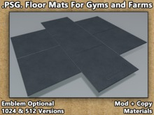 .PSG. Floor Mats For Gyms and Farms