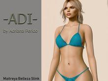 -ADI-Bikini Blue dots Summer gift 1 L Maitreya Belleza Slink