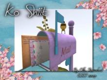 Mailbox Pink