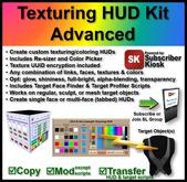 Texturing HUD Kit Advanced