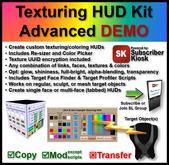 Texturing HUD Kit Advanced DEMO