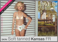 ♥ AVI(L) HUD Master: Skin Kansas FR Tanned Body & Face