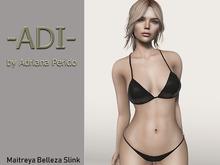 -ADI-Bikini Black Maitreya Belleza Slink TMP