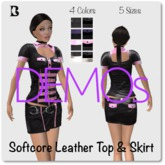 Blackburns Softcore Top & Skirt DEMO