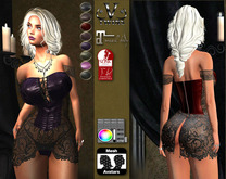 V-Twins- Biker Clothes - Frontier Biker Version **MESH Outfit [Mesh Bodies Compatible] Maitreya Slink