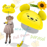 [ FULL PERM ] Parasol Bear & Accessory