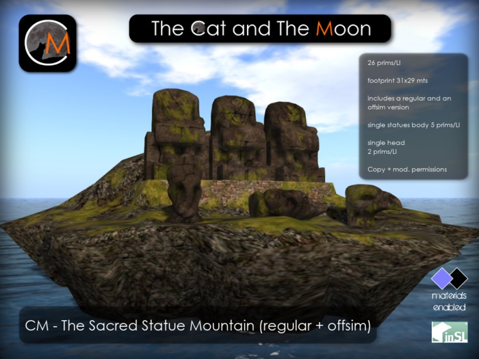 CM - The Sacred Statue Mountain
