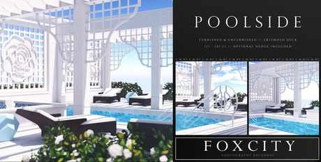 FOXCITY. Photo Booth - Poolside