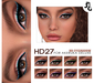 ::SG:: HD27  Eyeshadow for AKERUKA DELUXE HEADS ONLY!