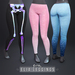 Elia Leggings - DEMO by Sweet Thing (Comfy leggings for Maitreya Lara, Hourglass, and Freya) Tons of prints & colors!