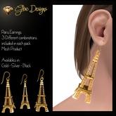 .:Glow Designs:. Paris Earrings Fatpack BOXED