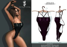 Nocturnal Couture Joliza- Bathing Suit Aubergine