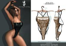 [NC] Joliza- Bathing Suit -Gold Sequin *Rev6/3/19