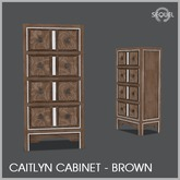 Sequel - Caitlyn Cabinet - Brown