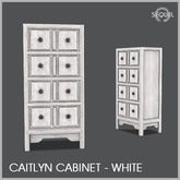 Sequel - Caitlyn Cabinet - White