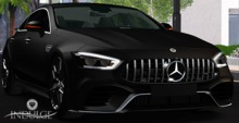 .::Indulge::. AMG GT 63s  4dr Coupe Matte black