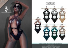 Nocturnal Couture Tamara Bathing Suit All Pack