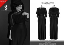 Nocturnal Couture Charlotte Dress Black DEMO