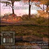 [DDD] Tumbled Garden Edgers