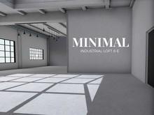 MINIMAL - Industrial Loft 8-E Skybox